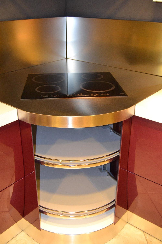 Offerta scavolini flux viola 4380 cucine a prezzi scontati - Cucina con piano cottura angolare ...