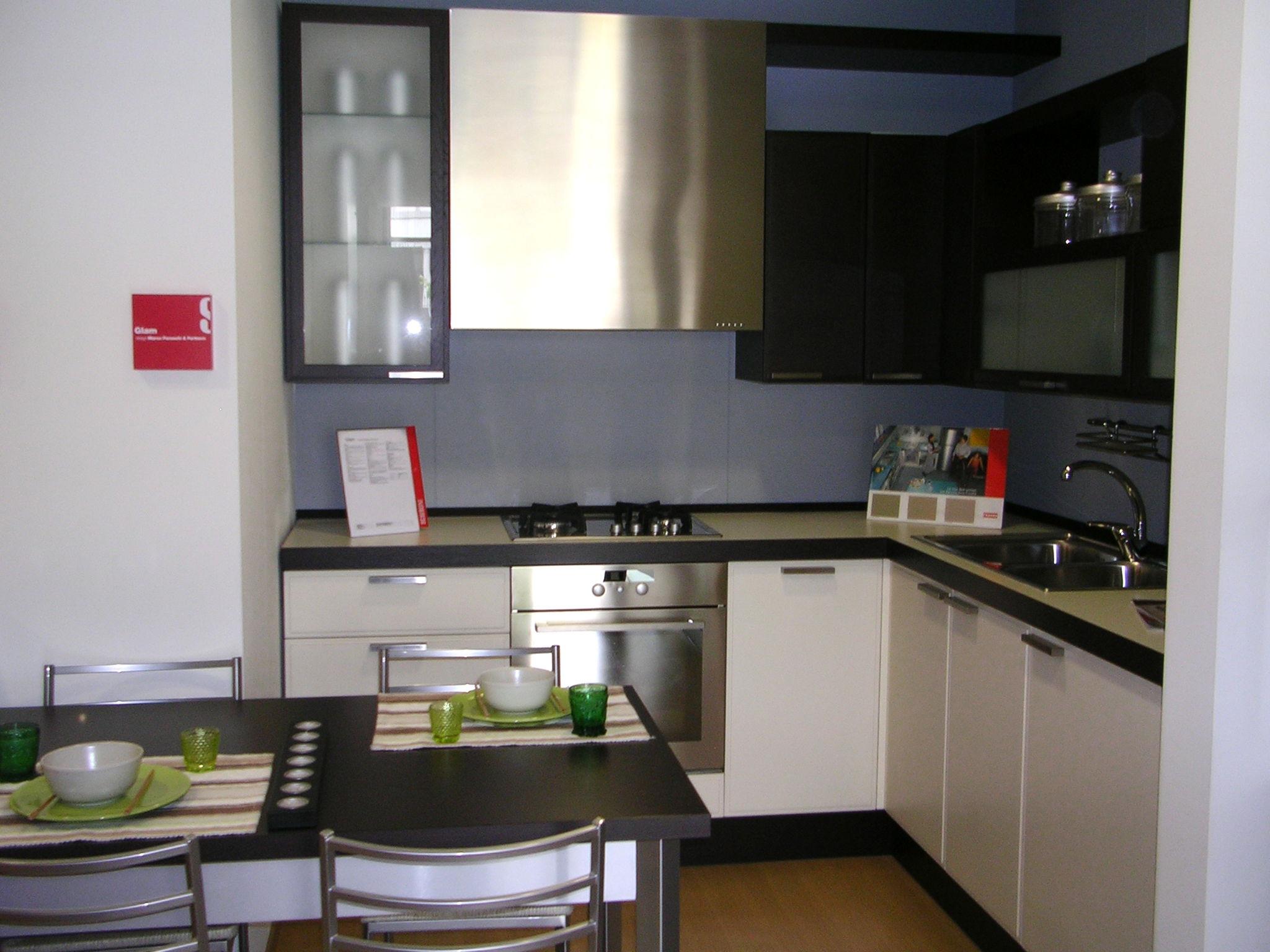 Arredare cucina a vista arredare open space di mq for Cucina open space con pilastri
