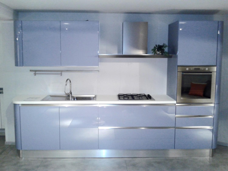Offerta scavolini tess azzurra 3991 cucine a prezzi scontati - Cucina scavolini tess ...