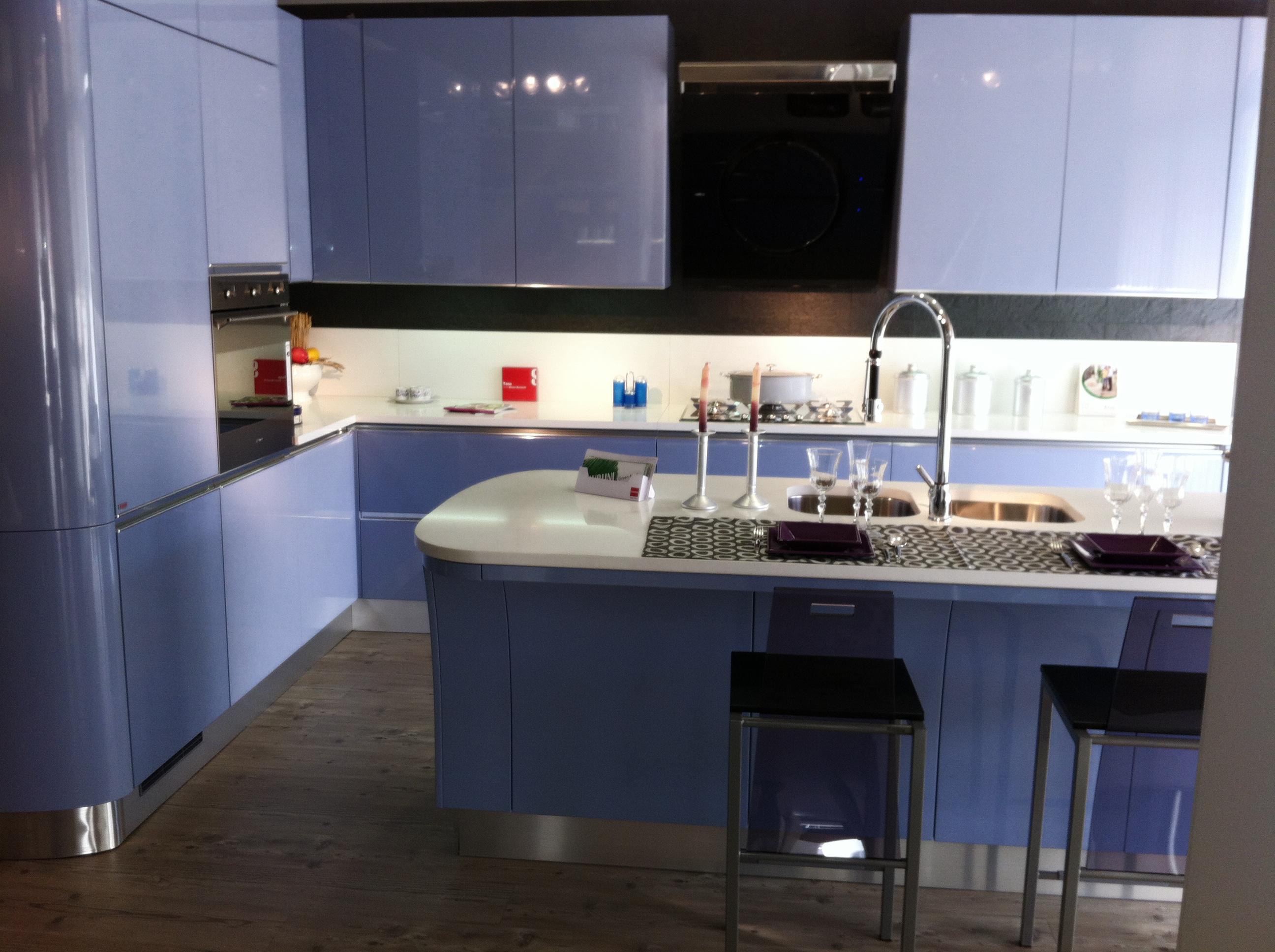 Offerta scavolini tess azzurra cucine a prezzi scontati - Prezzi cucine scavolini moderne ...