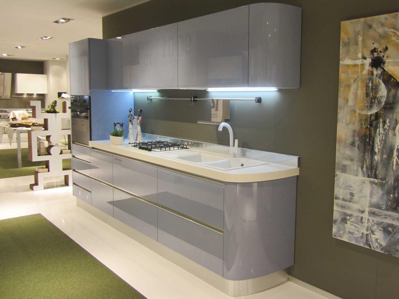 Offerta scavolini tess curva 3913 cucine a prezzi scontati - Cucina 3 metri angolare ...