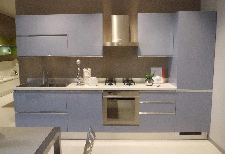 Offerta tess azzurra scavolini cucine a prezzi scontati for Cucina azzurra