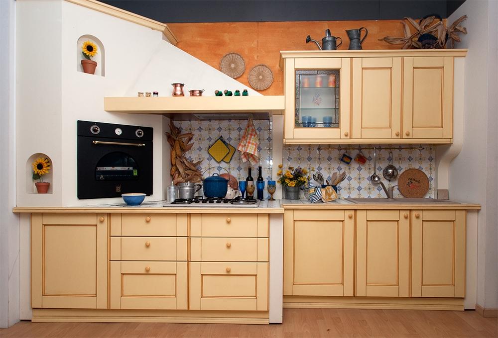 Cucina in muratura sottocosto cucine a prezzi scontati - Cucine classiche in muratura ...
