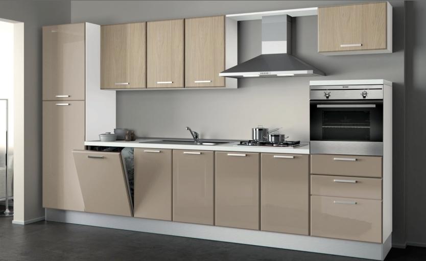 Offertissima cucina con top in agglomerato - Cucine componibili con lavastoviglie ...