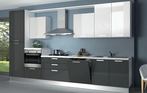 Offertissima cucina mt top agglomerato cucine a prezzi scontati - Cucine lineari moderne ...