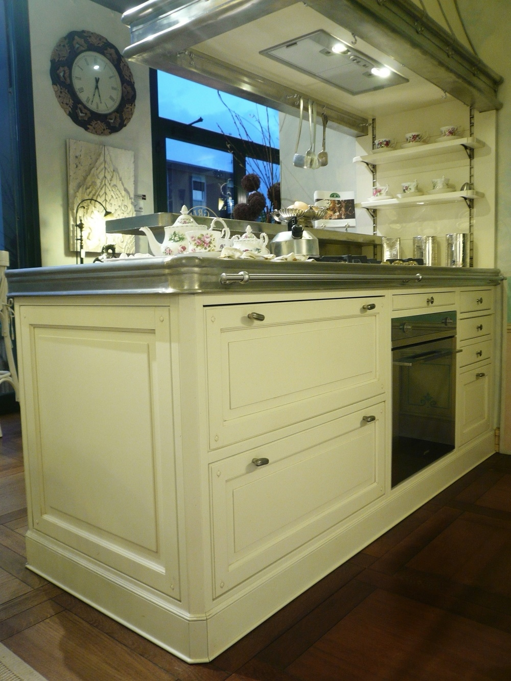 Penisola bifacciale in peltro marchi cucine in offerta for Cucine in offerta