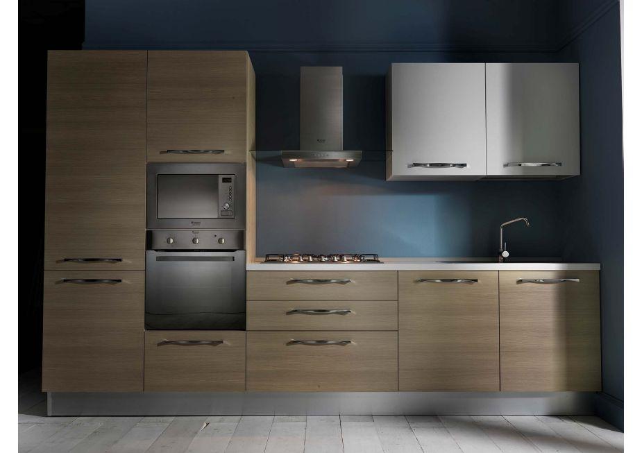 cucina astra cucine combi laccata o materica moderna laccato opaco ... - Composizione Cucine