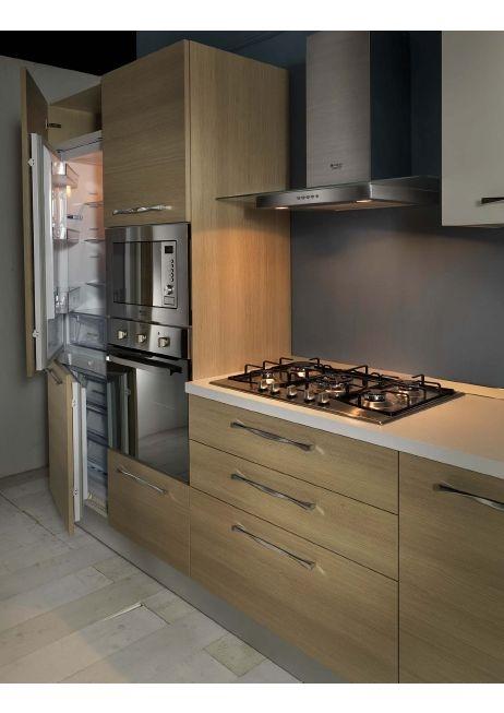 Cucina astra cucine combi laccata o materica moderna - Forno da cucina prezzi ...