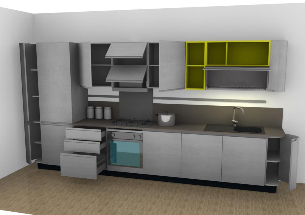 Cucine Moderne Con Isola Stosa