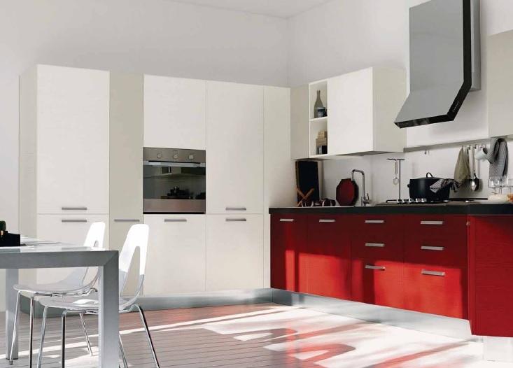 Promozione cucina 185 con penisola cucine a prezzi scontati - Cucina angolare con penisola ...