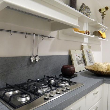 Cucina lube cucine agnese classica legno bianca   cucine a prezzi ...