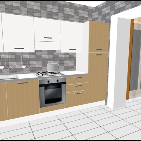 Promozione cucina cucine a prezzi scontati - Cucina 3 metri completa elettrodomestici indesit prezzi ...