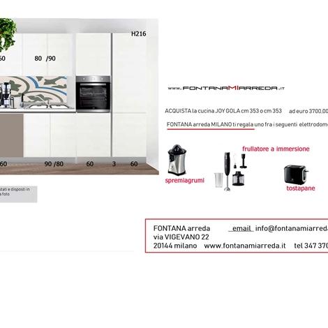 Cucine in offerta a partire da 2990 00 euro cucine a for Fontana arreda