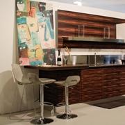 Salvarani Cucina High teak Moderne Legno Bianca