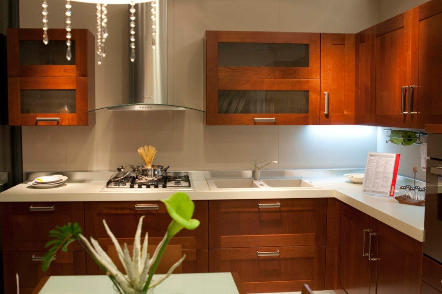 Scavolini carol cucina cucine a prezzi scontati - Cucine in ciliegio moderne ...