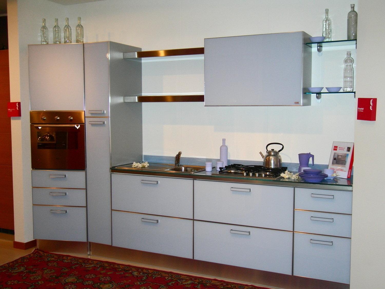 Scavolini crystal azzurra cucine a prezzi scontati - Cucina crystal scavolini ...