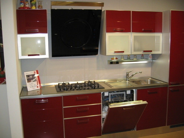 cucine moderne rosse scavolini  canlic for ., Disegni interni