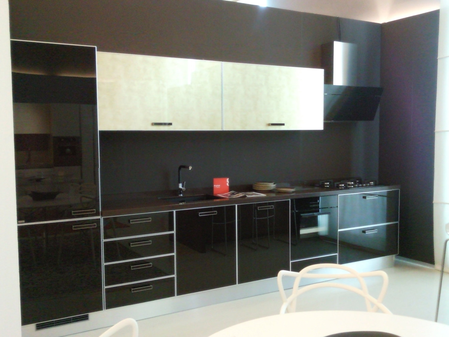 Cucine nere lucide pasionwe for with cucine nere lucide - Cucine nere lucide ...