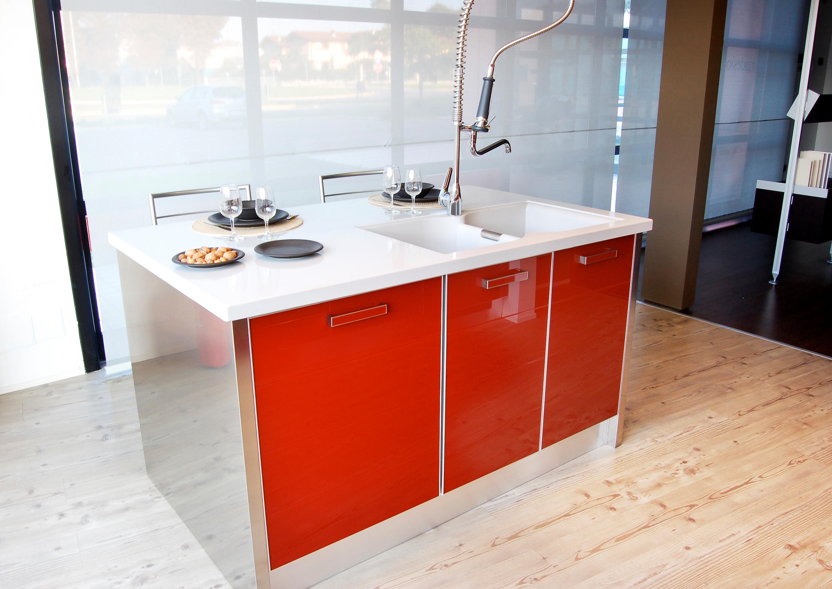 Cucina Scavolini Crystal Moderna Vetro - Cucine a prezzi scontati
