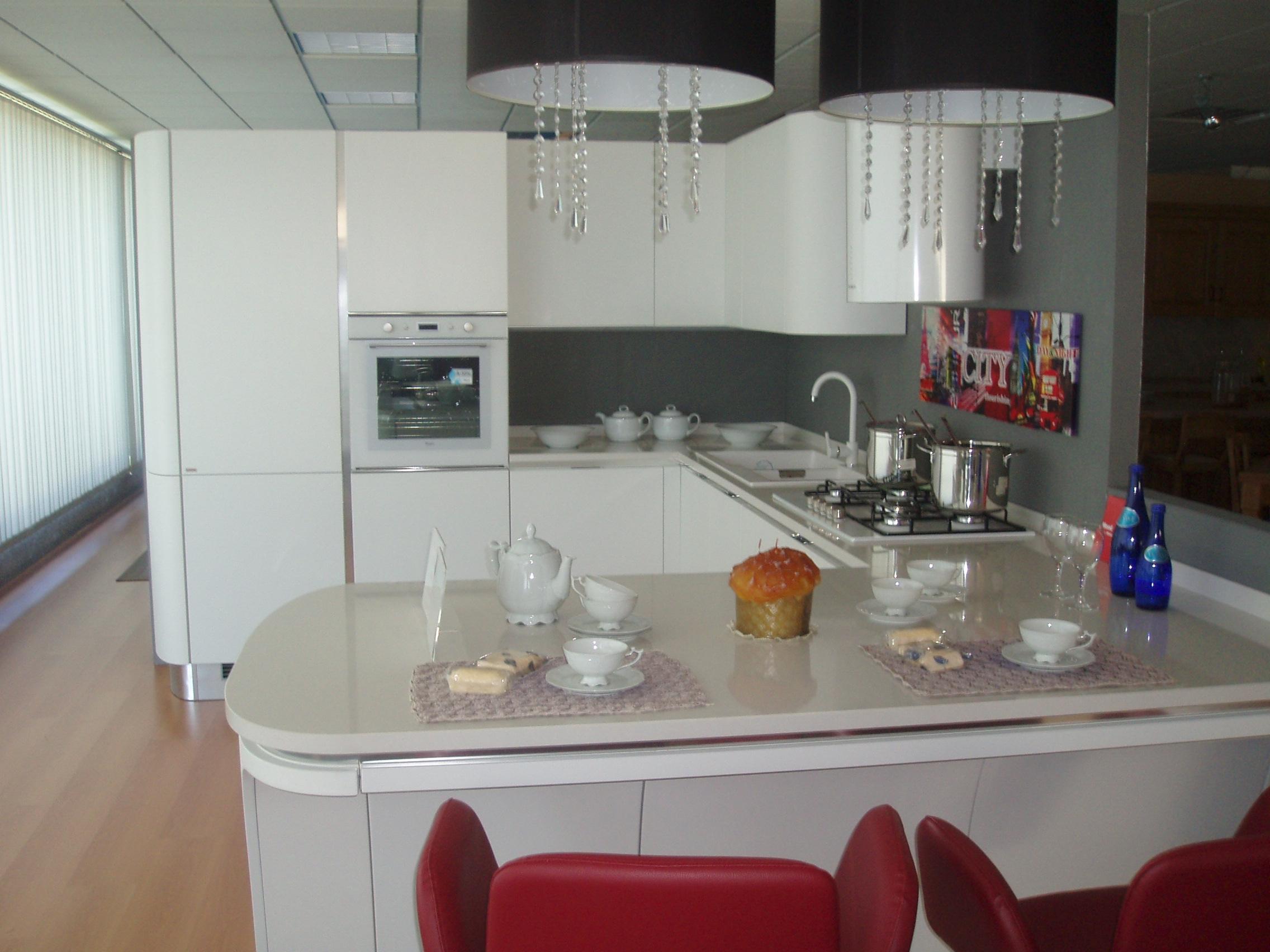 Scavolini cucina mood moderna laccato opaco cucine a for Scavolini pareti attrezzate