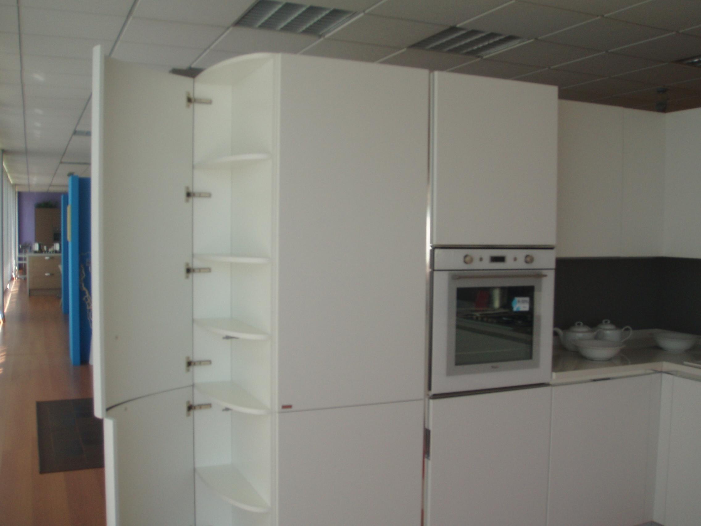 Scavolini cucina mood moderna laccato opaco cucine a - Cucine total white ...
