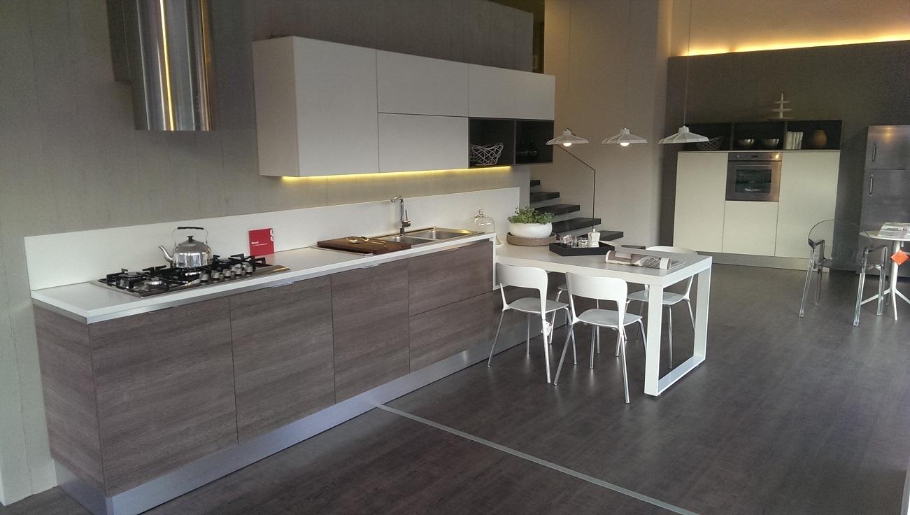 Scavolini cucina mood moderna laminato opaco bianca - Top cucina moderna ...