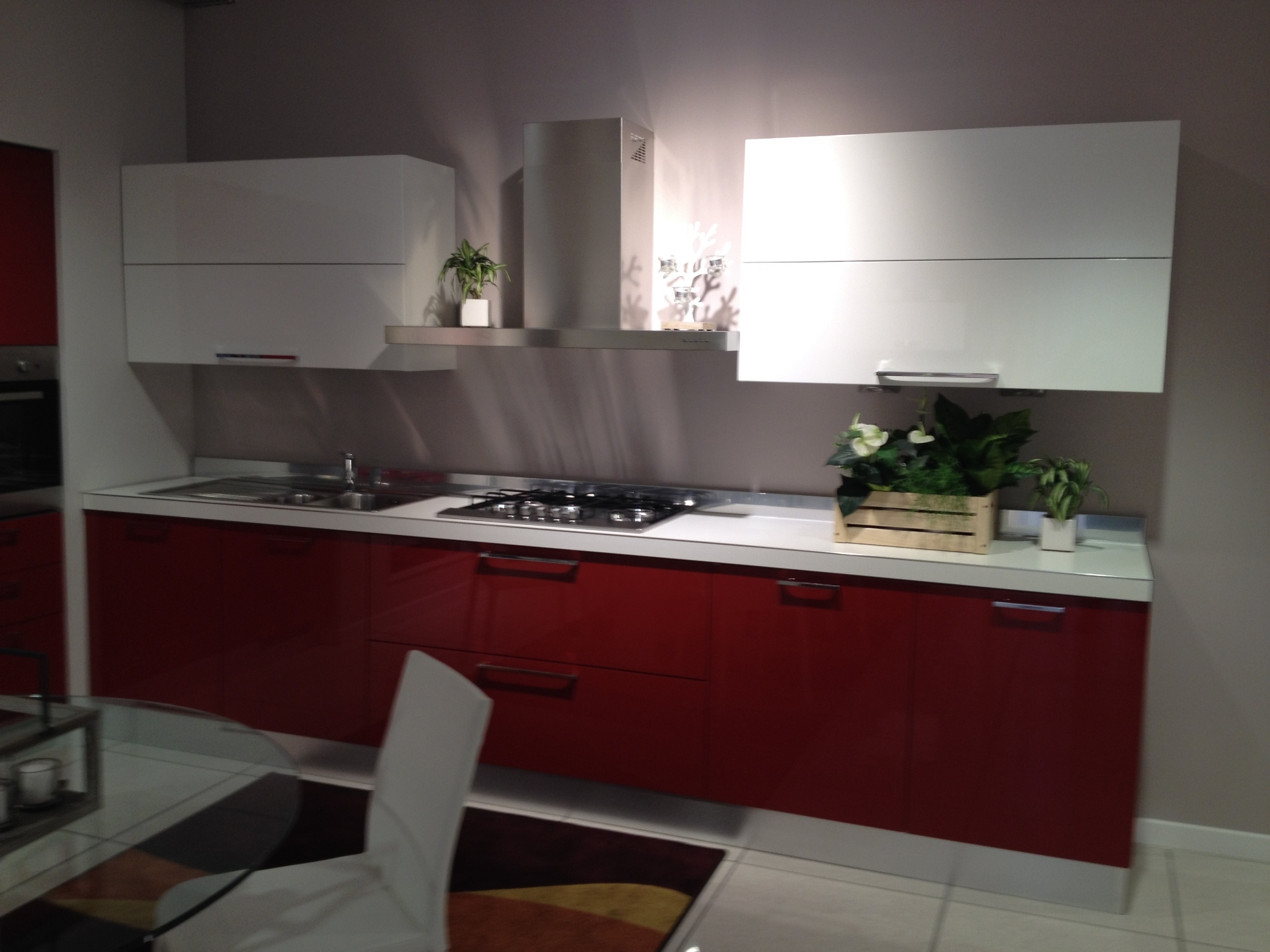 Gallery of idee with cucine rosse for Cucine rosse moderne