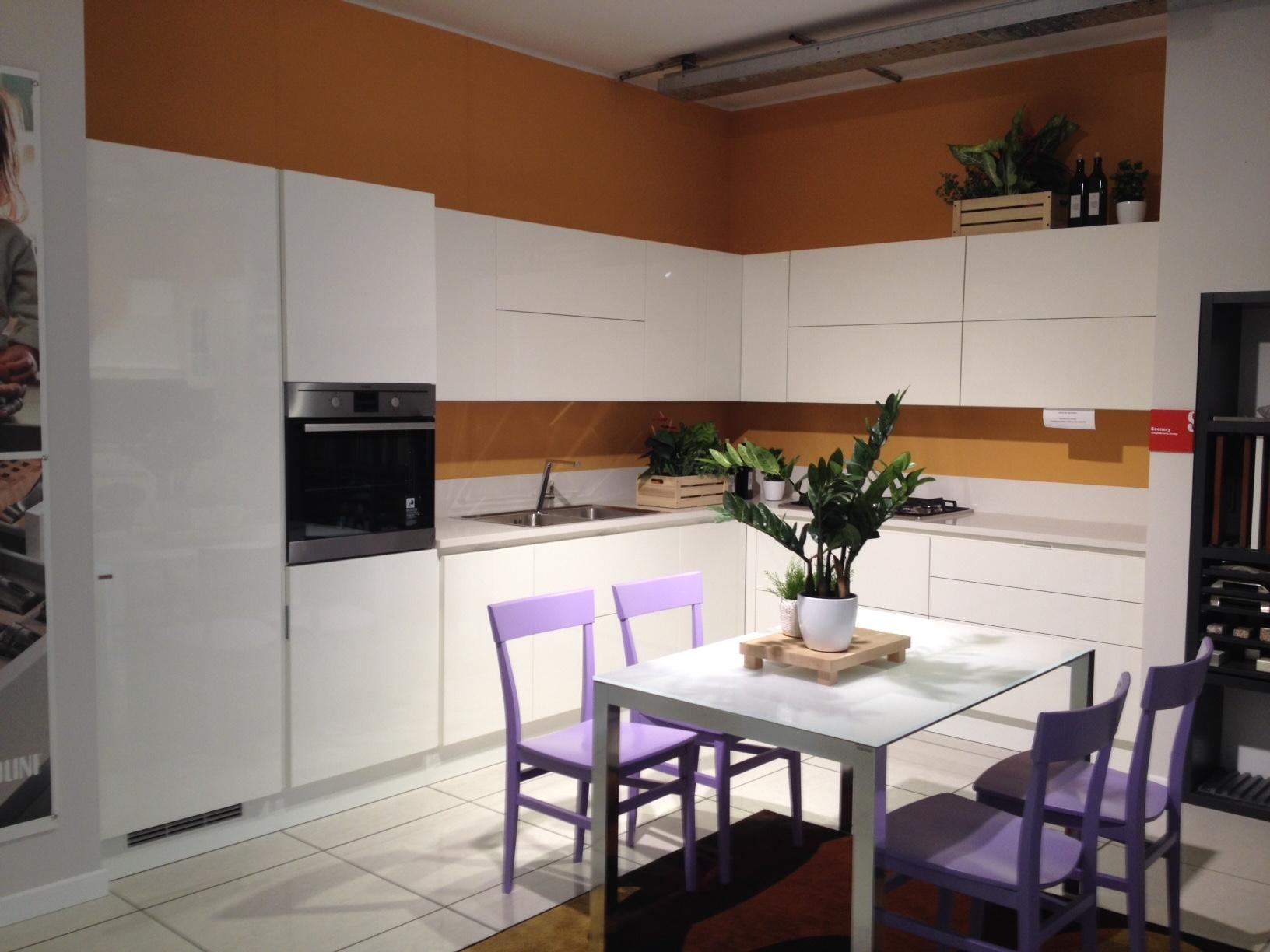Scavolini Cucina Scenery Laccato Lucido - Cucine a prezzi scontati
