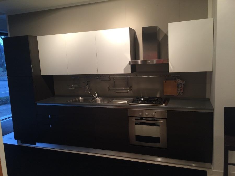 Cucina scavolini flirt decorativo rovere grigio   cucine a prezzi ...