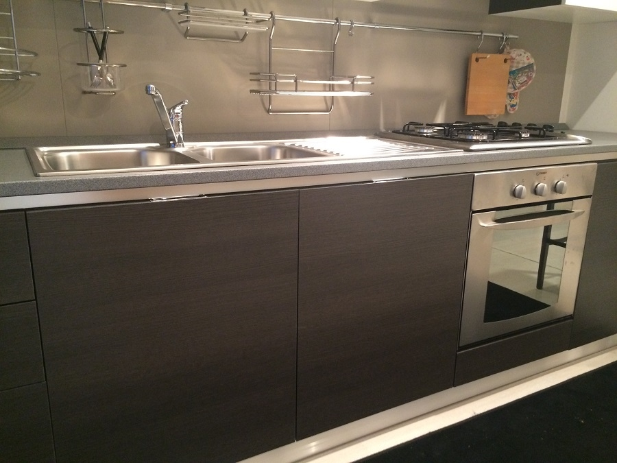 Beautiful Cucine Grigio Rovere Ideas - harrop.us - harrop.us