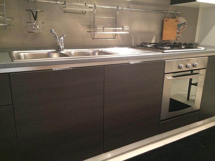 Cucina Scavolini Flirt decorativo rovere grigio - Cucine a prezzi ...