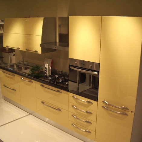 Cucina Scavolini Flux Design Laccato Lucido - Cucine a prezzi scontati