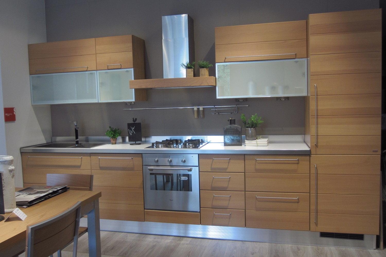 Scavolini life ciliegio 10746 cucine a prezzi scontati for Cucina moderna in ciliegio