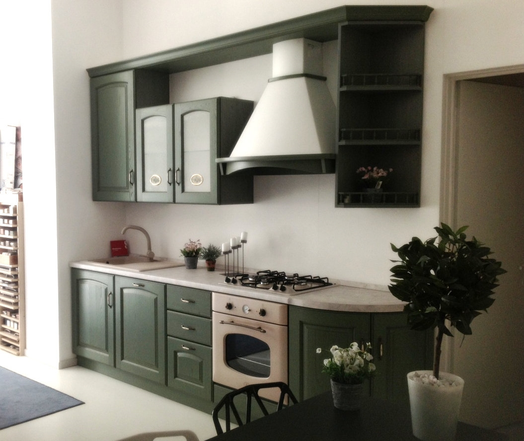 Scavolini madeleine verde cucine a prezzi scontati - Cucina scavolini madeleine ...