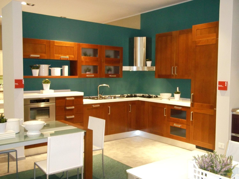 Scavolini offerta carol legno cucine a prezzi scontati - Cucina scavolini carol ...