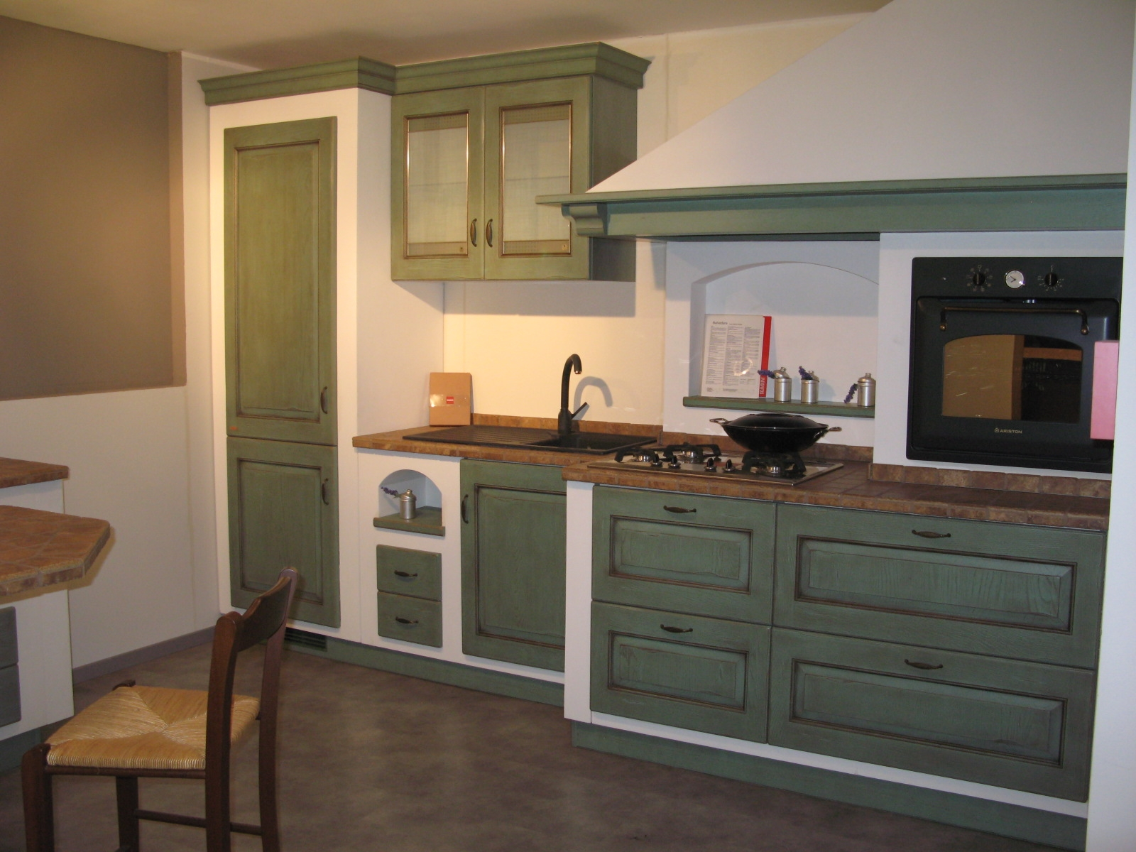 Scavolini offertissima outlet mod belvedere cucine a prezzi scontati - Costi cucine scavolini ...