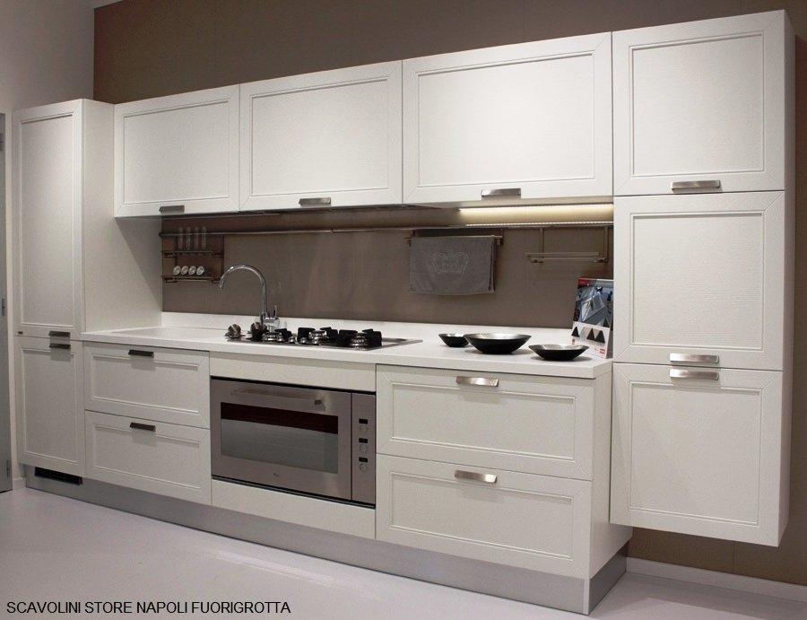 Scavolini regard cucina cucine a prezzi scontati - Cucina lineare 3 metri senza frigo ...