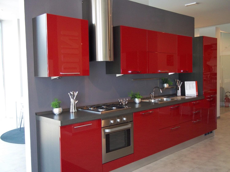 Cucine Scavolini Moderne Rosse: Cucine moderne rosse scavolini cucina moderna quot.