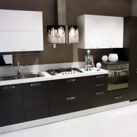 cucine grigie e rosse: arredo cucine moderne bergamo. pensili ... - Cucine Bianche E Grigie Scavolini