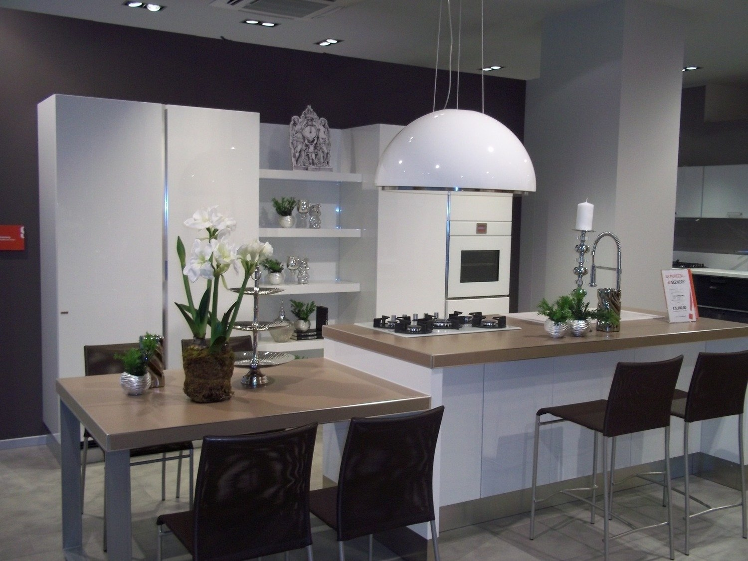 Beautiful Cucina Con Isola Scavolini Pictures - Embercreative.us - embercreat...