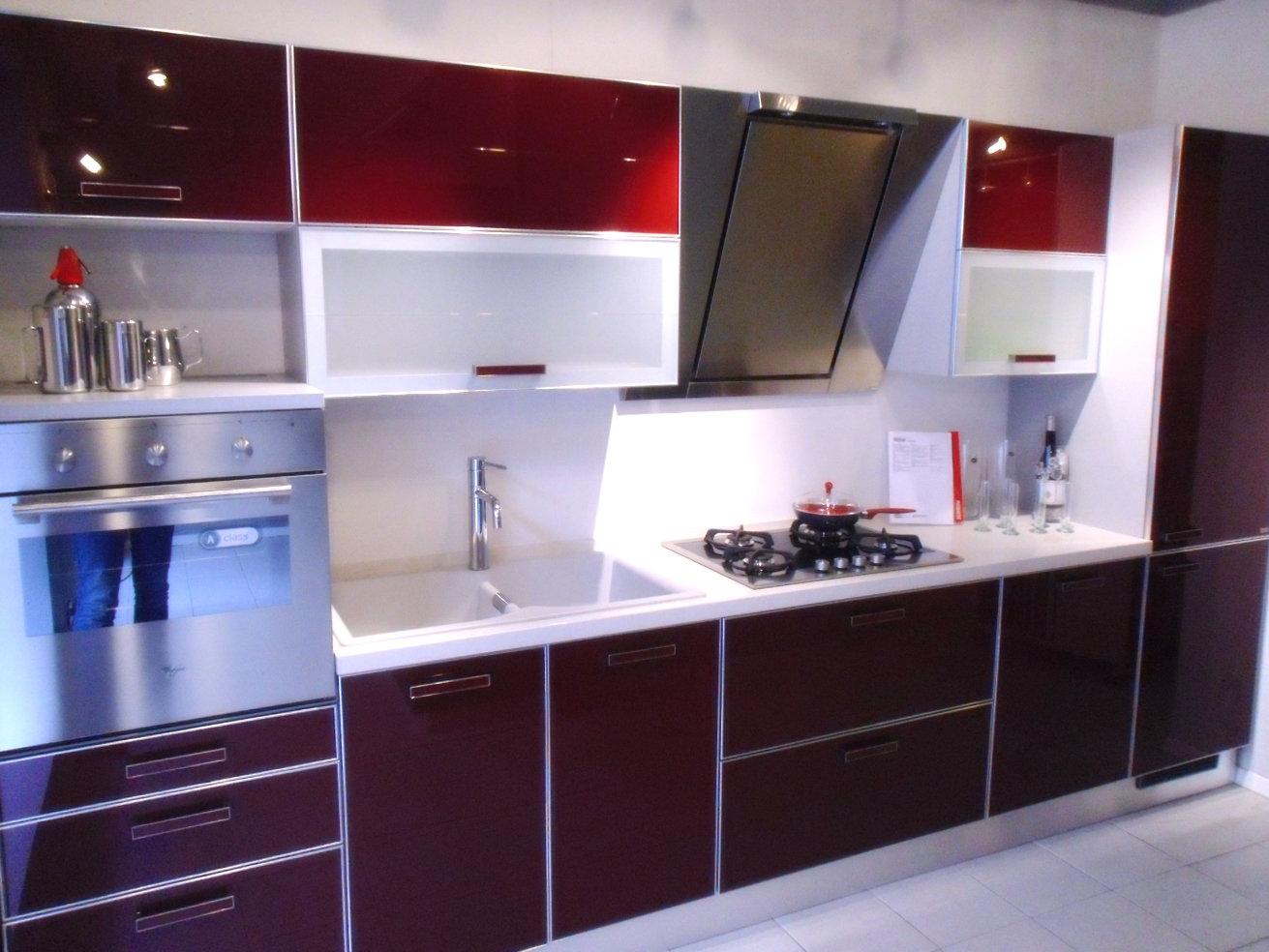 cucina rossa scavolini - 28 images - scavolini baccarat rossa cucine ...