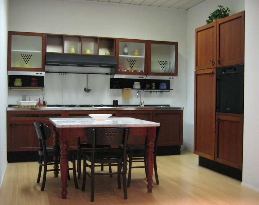 Schiffini cucina clinton ciliegio legno scontato del 60 cucine a prezzi scontati - Schiffini cucine ...