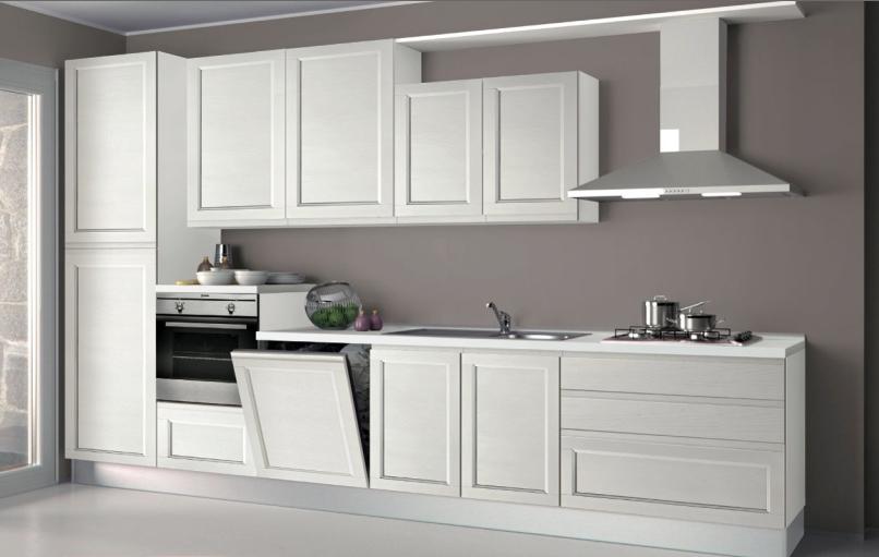 Scontatissima cucina impiallacciata top - Cucine componibili con lavastoviglie ...