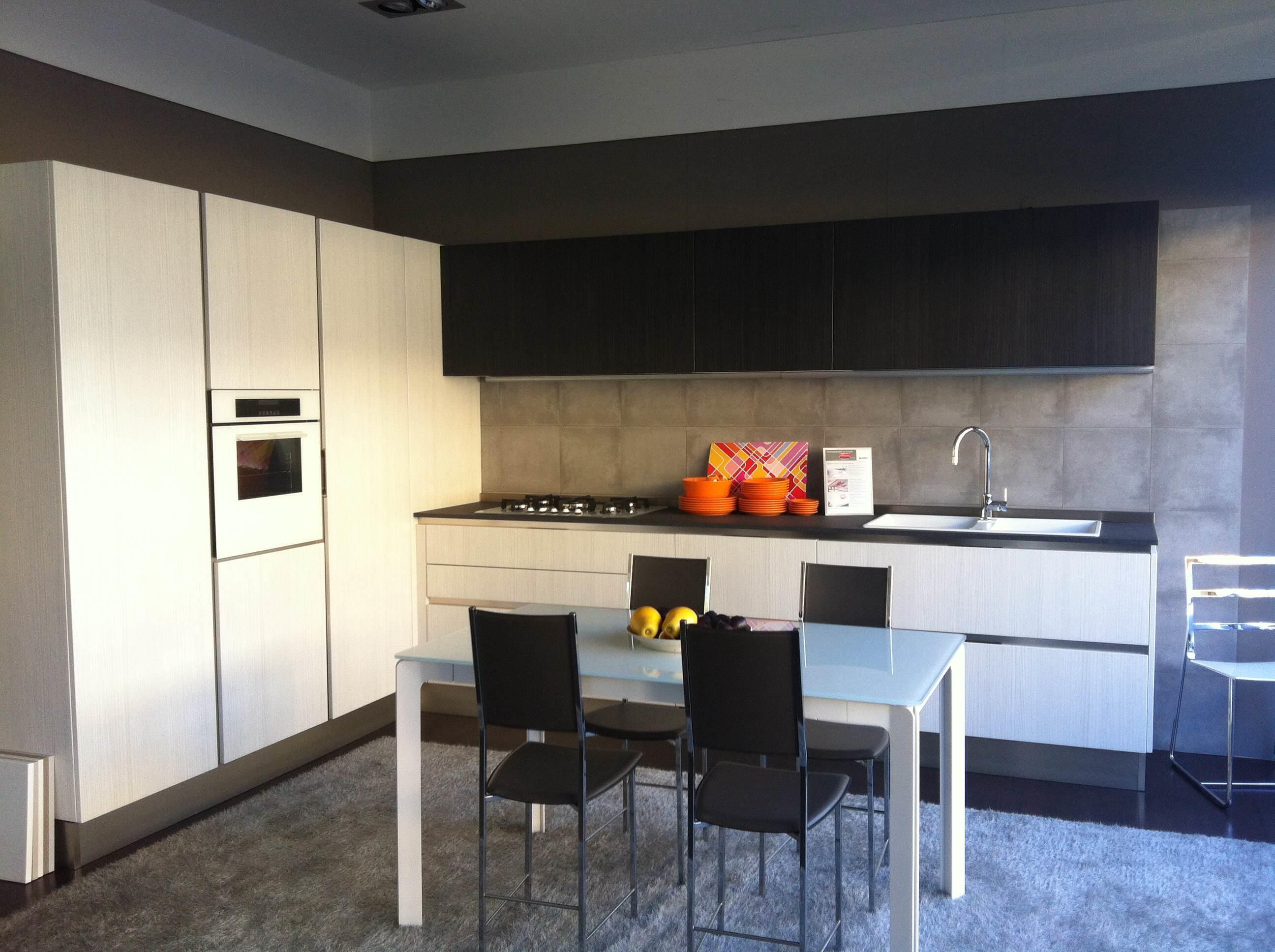 Cucina veneta cucine carrera go moderna laminato materico - Laminato in cucina ...
