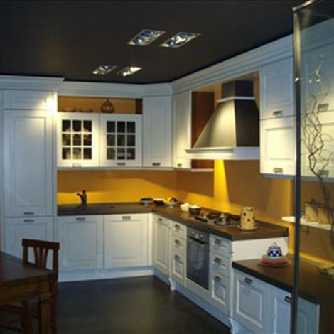 Sicc cucine Cucina S75 Classica Legno bianca - Cucine a prezzi ...