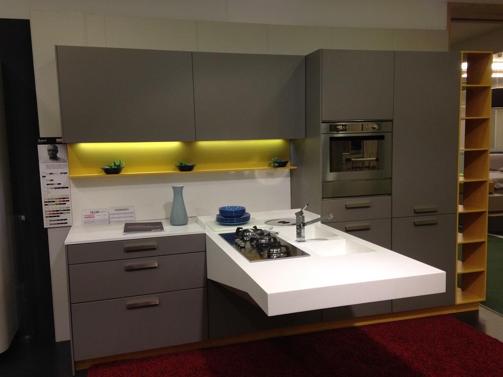 Snaidero Cucina Board/code Design Laccato Opaco - Cucine a prezzi ...