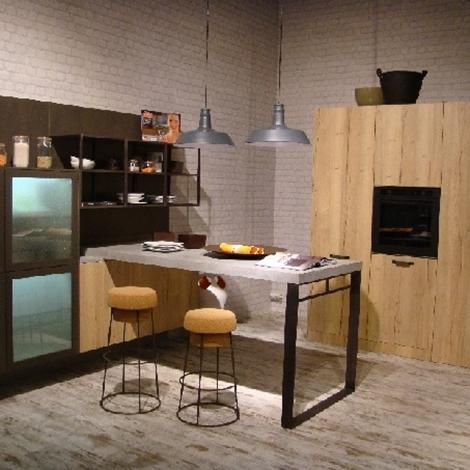snaidero cucina loft scontato del -40 % - cucine a prezzi scontati - Cucine Loft
