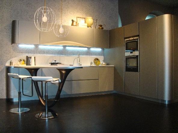 Snaidero cucina ola 20 design laccate opaco grigio - Cucine moderne snaidero prezzi ...
