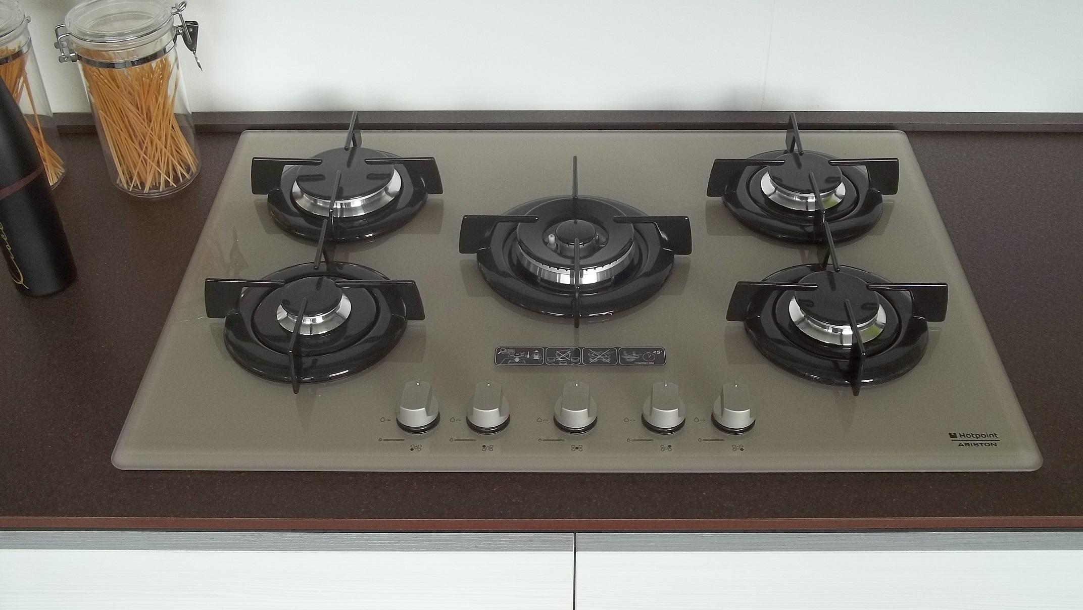 Cucina spar life madrid moderna laminato opaco larice for Piano cottura cucina