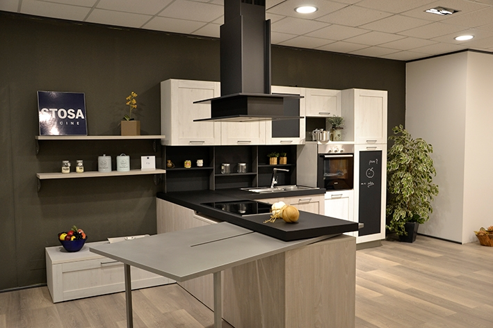Stosa cucine city industrial style scontata cucine a - Cucina city stosa ...